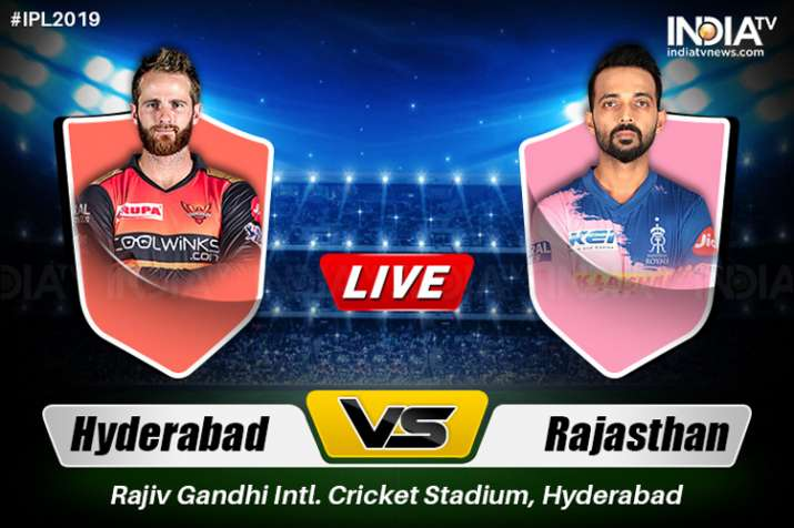 IPL, Sunrisers Hyderabad vs Rajasthan Royals, Watch SRH vs RR live