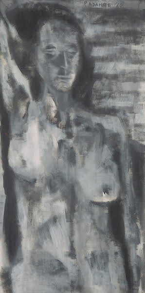 India Tv - Grey Nude by Akbar Padamsee