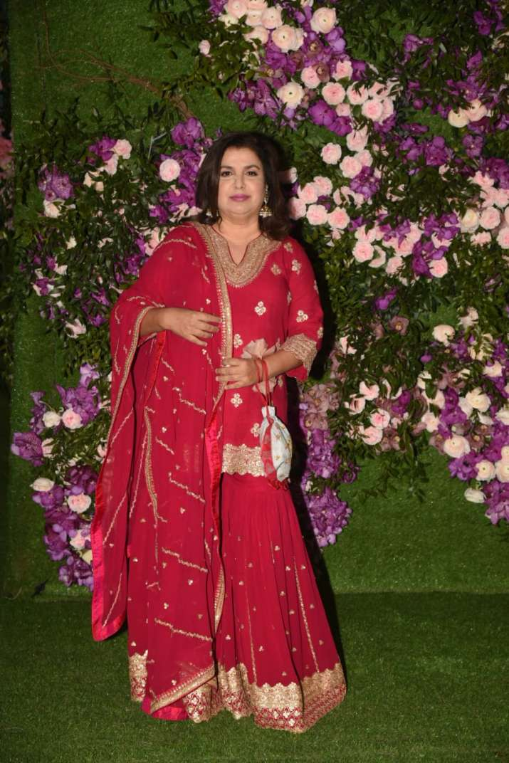 India Tv - Akash Ambani and Shloka Mehta wedding 2019:  Farah Khan