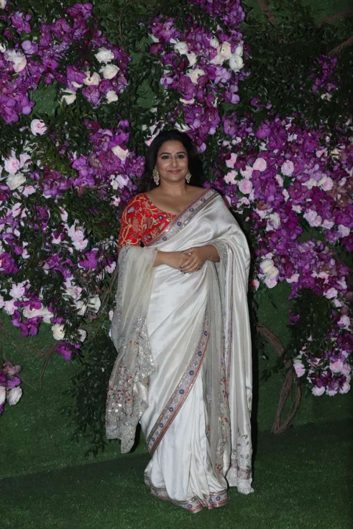 India Tv - Akash Ambani and Shloka Mehta wedding 2019: Vidya Balan