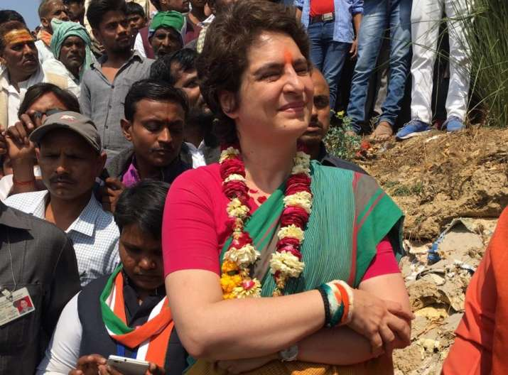 Election Live Blog: Priyanka Gandhi walks on foot,