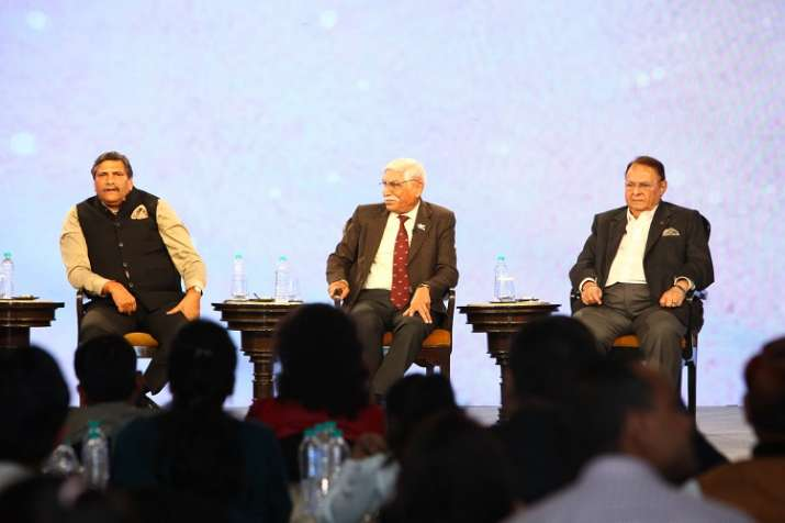 Retd Defence Personnel at India Tv conclave