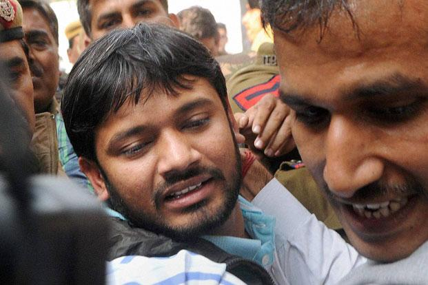 Kanhaiya Kumar lands up in trouble for 'objectionable'
