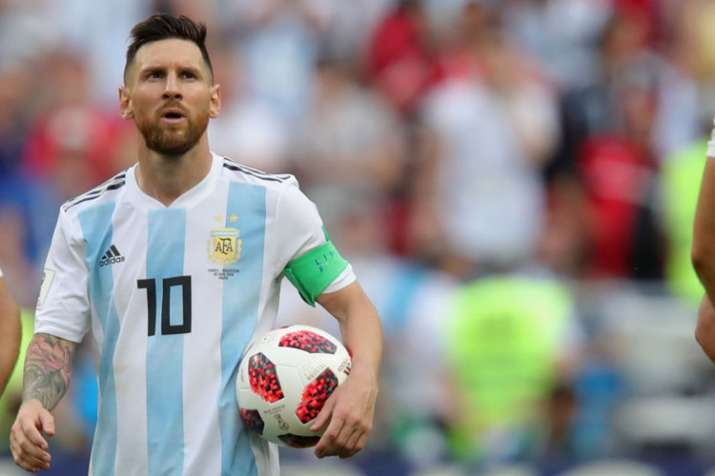 Lionel Messi returns to Argentina's national team for friendlies