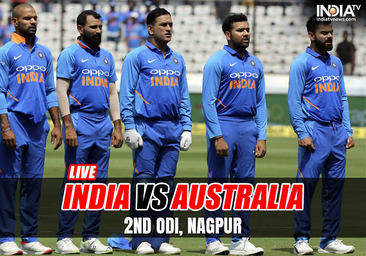 Live Streaming India Vs Australia 2nd Odi Live Cricket