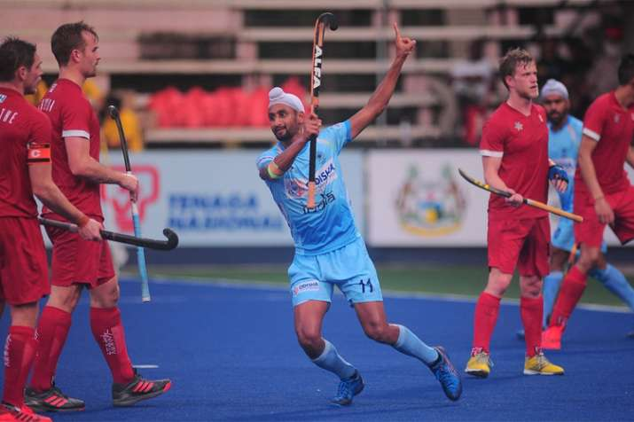 India thrash Canada 7-3, put one foot in final of Azlan Shah Cup hockey tournament