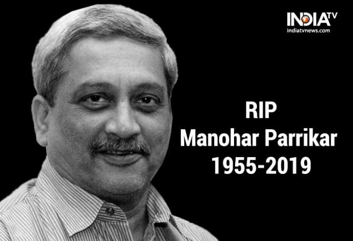 Manohar Parrikar passes away at the age of 63