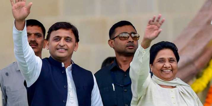 Samajwadi Party chief Akhilesh Yadav and Bahujan Samaj
