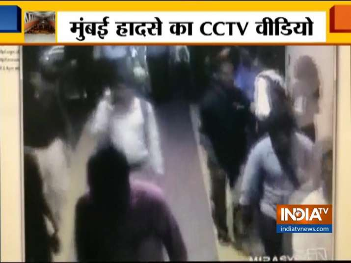 WATCH: CCTV of CST bridge collapse emerges, people seen
