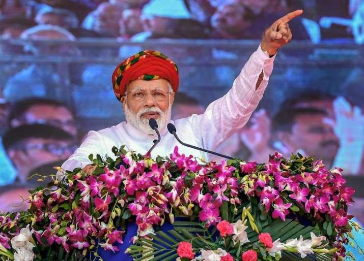 PM Modi in Jamnagar