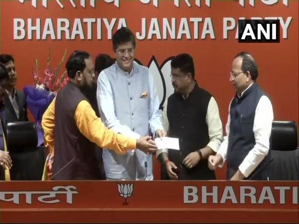 Former Biju Janata Dal MP Baijayant Jay Panda joins