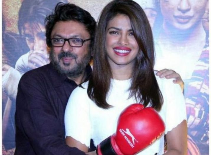 India Tv - Priyanka Chopra and Sanjay Leela Bhansali