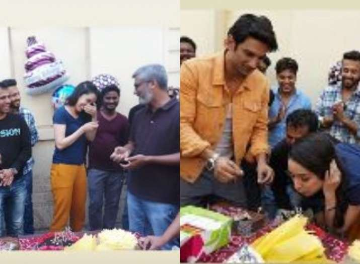 Shraddha Kapoor celebrates birthday with Sushant Singh Rajput and other 'Chhichhores'