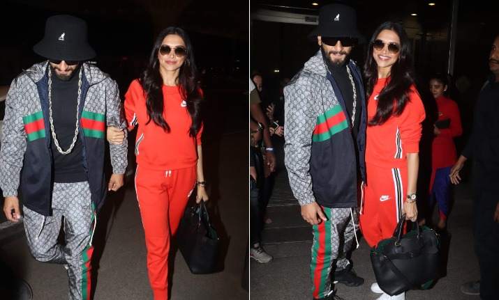 Deepika Padukone, Ranveer Singh leave for London to unveil