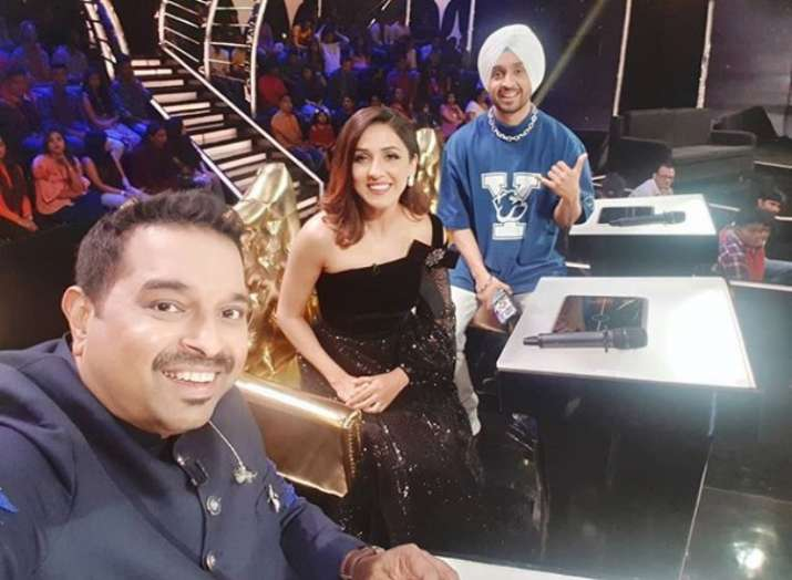 Neeti Mohan, Diljit Dosanjh, Shankar Mahadevan's sexist prank on a Rising  Star contestant angers twitterati   Celebrities News – India TV