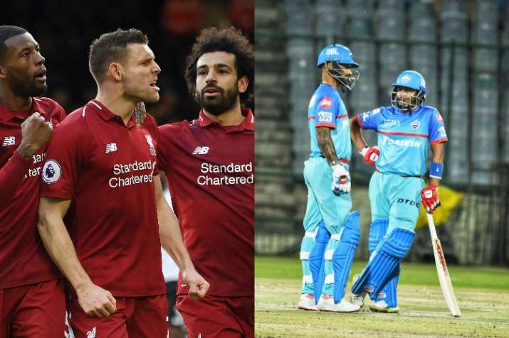 India Tv - Liverpool and Delhi Capitals