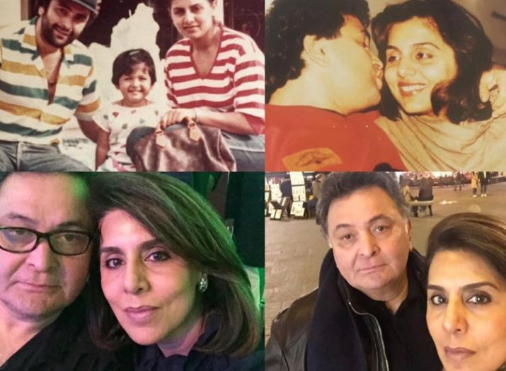 India Tv - Riddhima Kapoor shares adorable throwback picture of parents Neetu and Rishi Kapoor