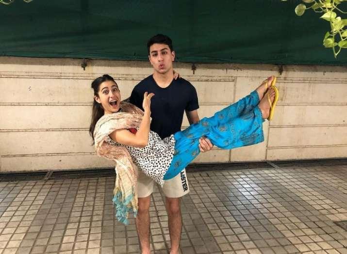 Sara Ali Khan shares adorable birthday wish for 'best brother' Ibrahim
