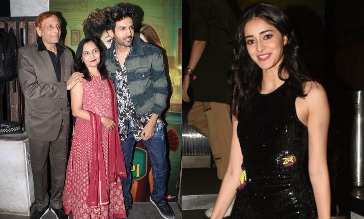 Luka Chuppi Success Party: Kartik Aaryan arrives with mom,