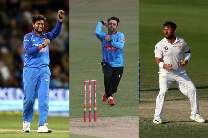 Kuldeep Yadav, Rashid Khan and Yasir Shah are three spinners I enjoy watching currently: Shane Warne