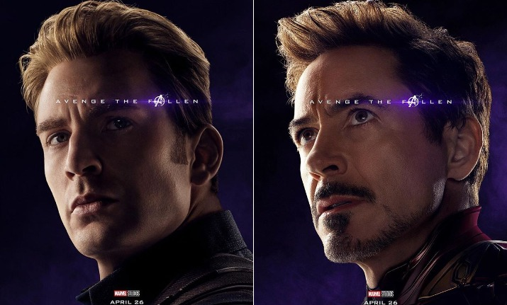 Avengers Endgame New Posters Captain America Thor Iron Man All