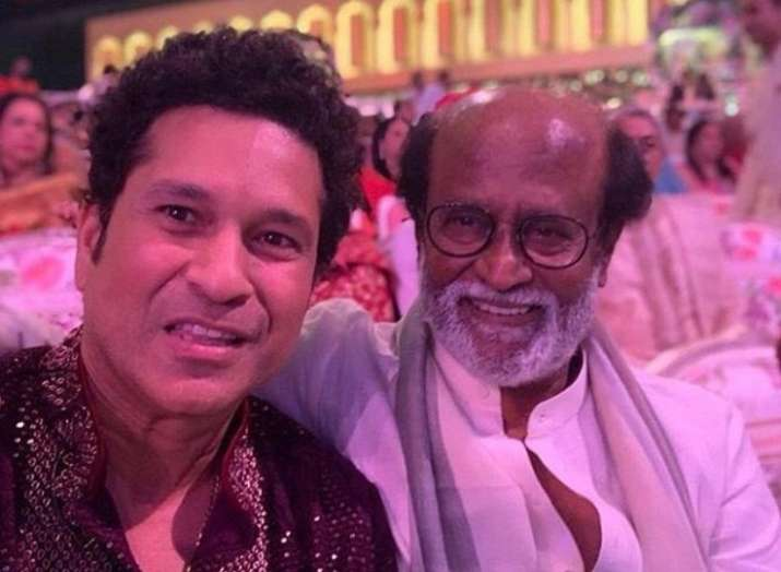 Sachin Tendulkar and superstar Rajnikanth's endearing selfie is breaking the internet