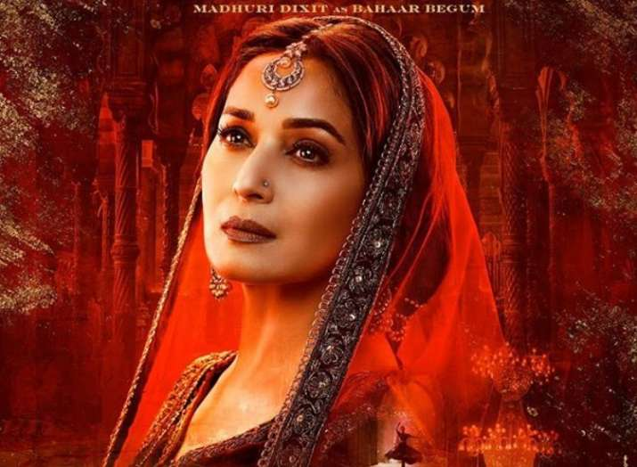 India Tv - Madhuri Dixit new dance song in Kalank