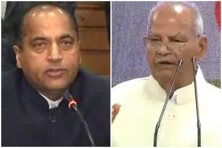 It may well be a Jai Ram versus Sukh Ram poll battle for