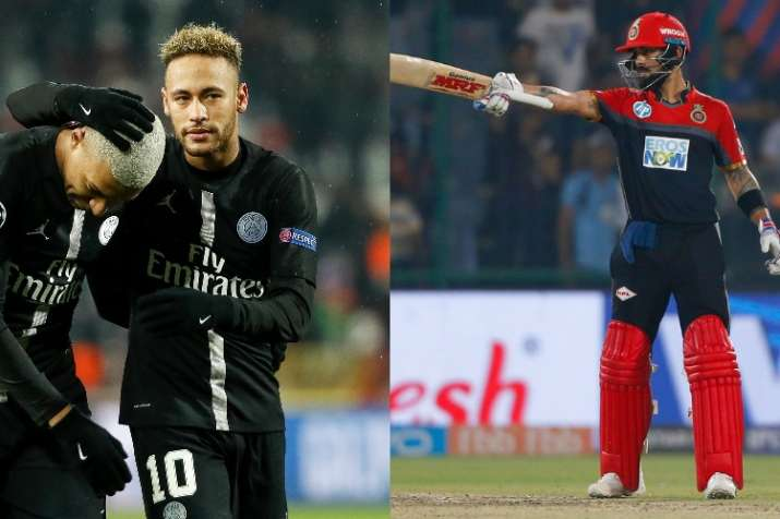 India Tv - PSG and RCB