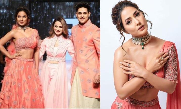 hina khan priyank sharma bombay times fashion week