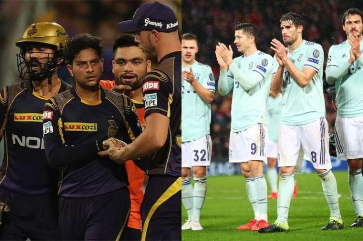 India Tv - Kolkata Knight Riders – Bayern Munich  KKR and Bayern Munich