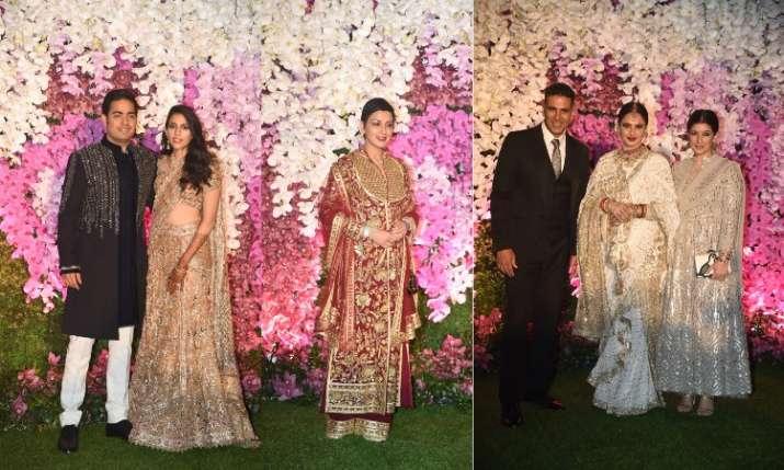 Akash Ambani-Shloka Mehta Wedding Reception