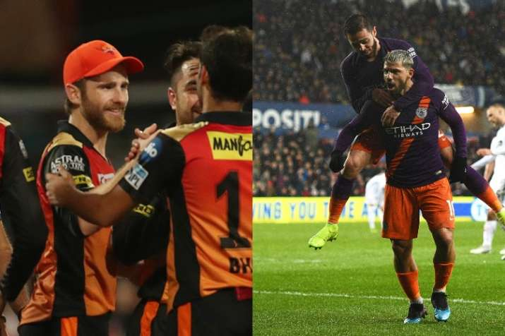 India Tv - Sunrisers Hyderabad and Manchester City
