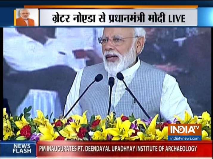 PM Modi inaugurates Noida City Centre-Noida Electronic City