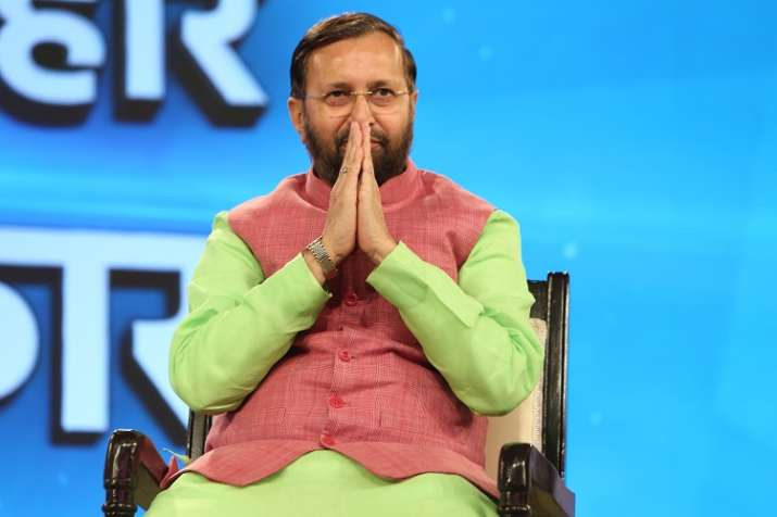 Prakash Javadekar speaks with India TV's Saurav Sharma
