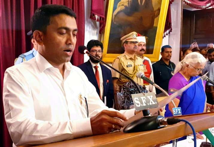 Pramod Sawant sworn in as 11th Goa Chief Minister at 2 am