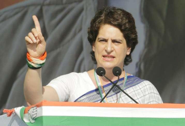 Congress party General Secretary Priyanka Gandhi Vadra