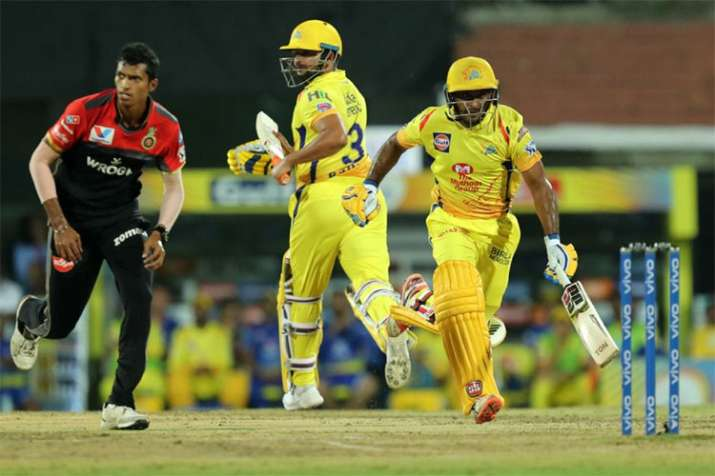 Highlights Ipl 2019 Harbhajan Tahir Star As Chennai Outclass Bangalore At Chepauk In Opener Cricket News India Tv