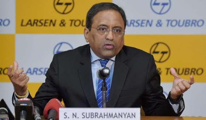 L&T CEO and Managing Director S.N. Subrahmanyan