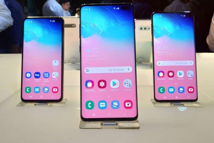 India Tv - Samsung Galaxy S10 series