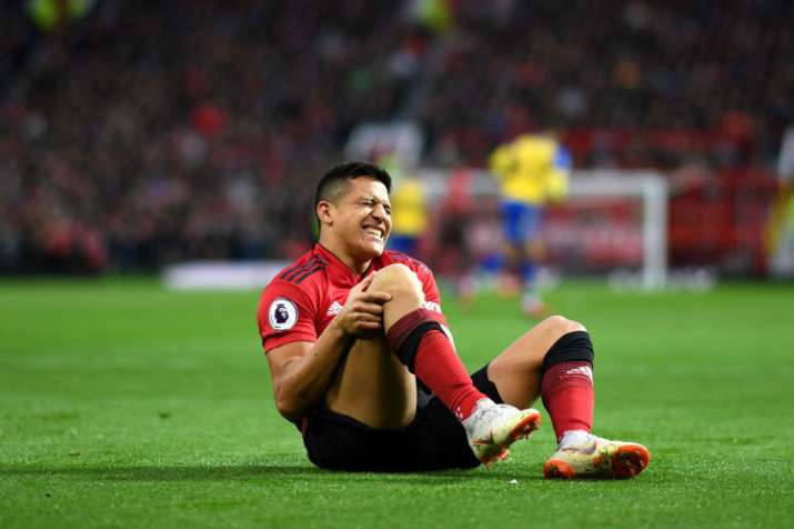 Premier League: Another injury blow for Manchester Utd, Alexis Sanchez ruled out for 6-8 weeks