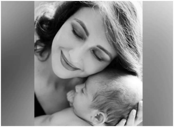 India Tv - PHOTOS: Bhabiji Ghar Par Hain actress Saumya Tandon's latest photo shoot with baby boy is too adorable