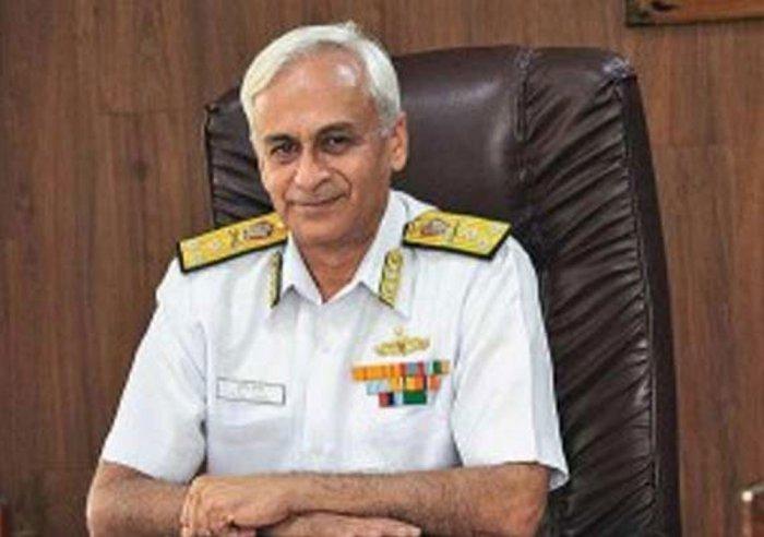 Navy chief Admiral Sunil Lanba