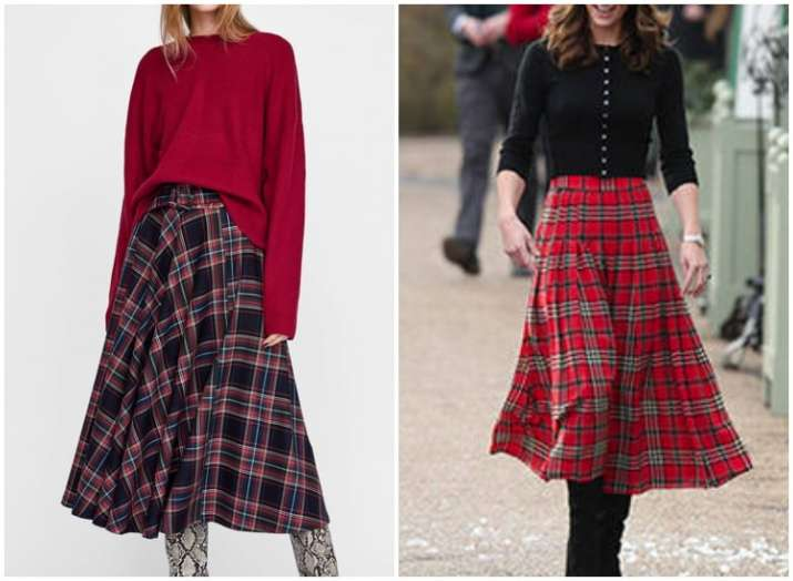India Tv - Tartan print is the latest fashion trend; 3 ways on how to style your plaid outfits
