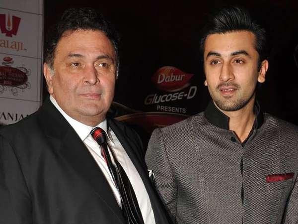 Ranbir Kapoor on father Rishi Kapoor