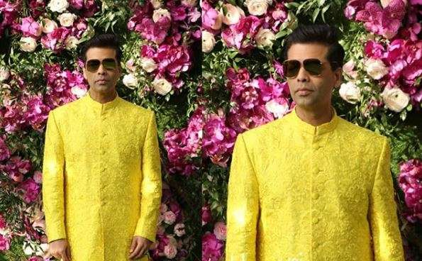 India Tv - Akash Ambani and Shloka Mehta wedding 2019: Karan Johar