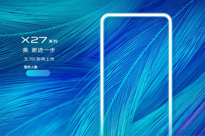 Vivo X27 with triple rear cameras and 6.39-inch FHD+ AMOLED display all set to launch on March 19