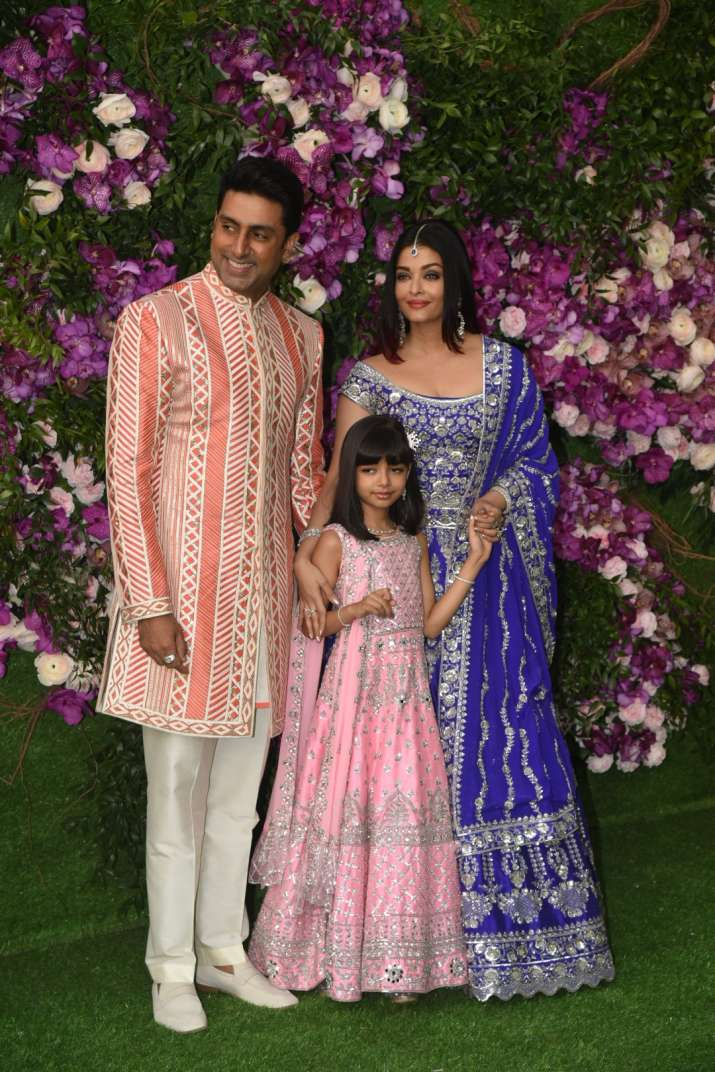 India Tv - Akash Ambani and Shloka Mehta wedding 2019: Abhishek and Aishwarya