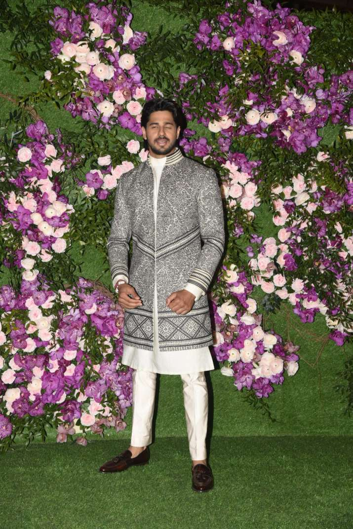 India Tv - Akash Ambani and Shloka Mehta wedding 2019: Siddharth Malhotra