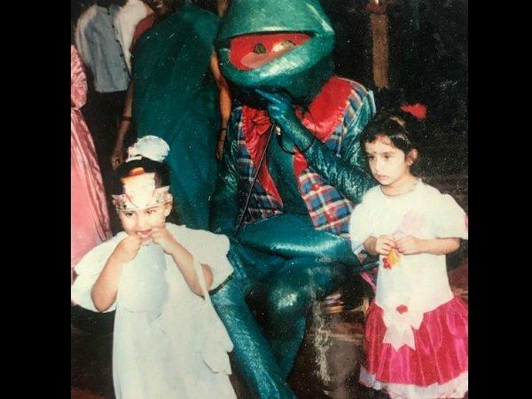 India Tv - Shraddha Kapoor childhood pictures